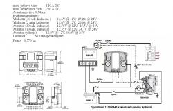 Kaksoisakkurele 12V/24V 1100-0445