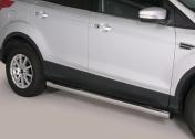 Kylkiputket askelmilla 76mm. Ford Kuga 2013- GP/340/IX