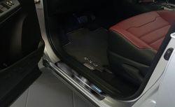 Kynnyslistat Toyota C-HR 2016-