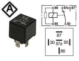 Kytkentärele 12V 1100-0431