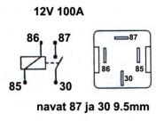 Kytkentärele 12V 1100-0483