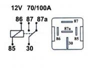 Kytkentärele 12V 1100-0484