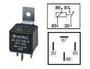 Kytkentärele 24V 20410100