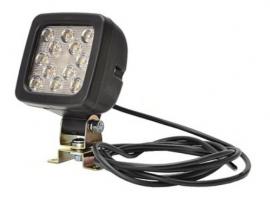 LED-työ/peruutusvalo 17W 12-35V
