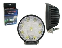 LED-työvalo 10-30V 27W pyöreä 300405