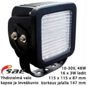 Led-työvalo PL-614-LED