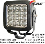Led-työvalo PL-616-LED