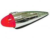 "LED-""Torpedo"" äärivalo 24V punainen"