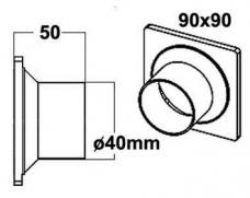 Letkulähtö 40 mm