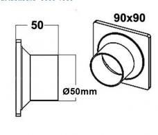 Letkulähtö 50 mm
