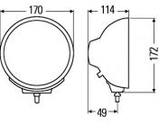 Hella Luminator Compact Celis Chromium