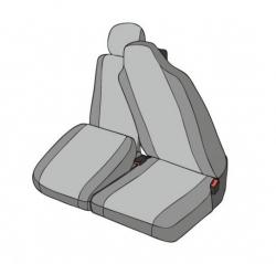 Practical pakettiauton istuinsuoja apukuljettajalle Master