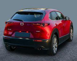 Kynnyslistat Mazda CX-30 mustat