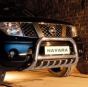 Eu-valoteline hampailla Nissan Navara 2010-15