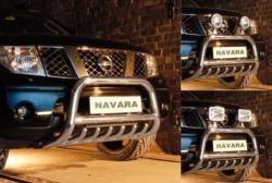 Eu-valoteline hampailla Nissan Navara 05-2010
