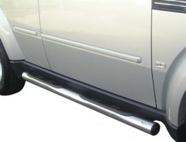 Kylkiputket askelmilla 76mm Dodge Nitro 2007- GP/209/IX