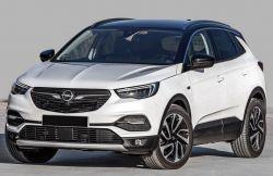 Kynnyslistat Opel Grandland X 2017- mustat
