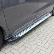 Opel Vivaro 2019- astinlaudat alumiinia