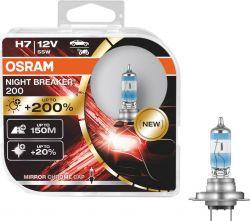Osram Night Breaker +200% halogeeni polttimo H7 55W 12V HCB2