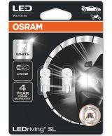 Osram LEDriving SL W5W polttimo valk 2KPL