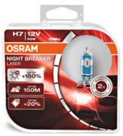 Osram Night Breaker Laser 12V H7 55W 2 kpl