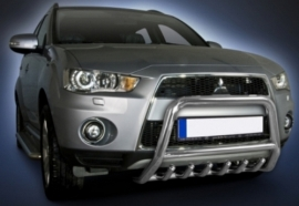 Eu-valoteline hampailla Mitsubishi Outlander 2010-2012