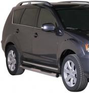 Kylkiputket askelmilla Mitsubishi Outlander 2010-2012
