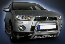 Eu-valoteline alleajosuojalla Mitsubishi Outlander 2010-2012