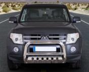 Eu-valoteline alleajosuojalla Mitsubishi Pajero 2007-