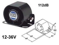 Peruutushälytin 12-36V 4850