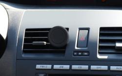 Puhelimen autoteline magneetilla