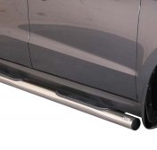 Kylkiputket askelmilla 76mm Hyundai Santa Fe '10-'12 GP/273/IX