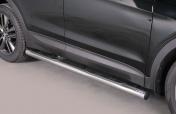 Kylkiputket askelmilla Hyundai Santa Fe 2013- GP/333/IX