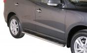 Ovaali kylkiputket Hyundai Santa Fe '10-'12 GPO/273/IX