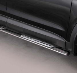 Ovaali kylkiputket Hyundai Santa Fe 2013- DSP/333/IX