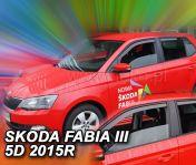 Tuuliohjaimet  SKODA Fabia III 5d 2014- htb / wagon