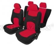 Istuinsuojasarja Sportline puna-musta