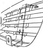 Lisävalojen kiinnikesarja VW T5 03-09