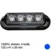 LED-majakka/tasovilkku 12/24V