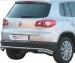 Takapuskurin suojarauta VW Tiguan 2008- DP2/233/IX