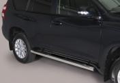 Kylkiputket askelmilla 76mm Toyota Land Cruiser 150 2014-