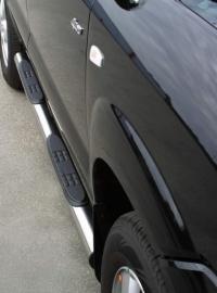 Kylkiputket askelmilla 76mm Hyundai Tucson GP/152/IX