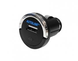 USB-autolaturi 12/24V yhdellä ulostulolla