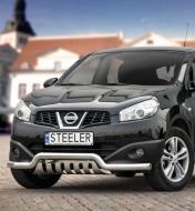 Eu-valoteline alleajosuojalla matala Nissan Qashqai 2010-2013