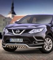 Eu-valoteline alleajosuojalla matala Nissan Qashqai 2013-