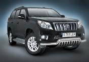 Eu-valoteline pellillä matala Toyota Land Cruiser 150 10-13