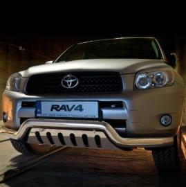 Eu-valoteline alleajosuojalla matala Toyota Rav4 06-10