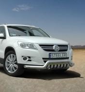 Eu-valoteline alleajosuojalla matala VW Tiguan 2007-