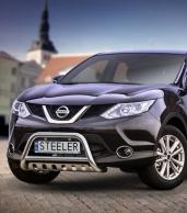 Eu-valoteline alleajosuojalla Nissan Qashqai 2013-