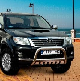 Eu-valoteline alleajosuojalla Toyota Hilux 2005-2011